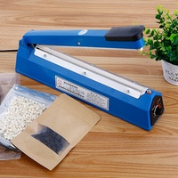 220V 400W 12 Inch Impulse Sealer Heat Sealing Machine Kitchen Food Sealer Vacuum Bag Sealer Bag Packing Tools Us/EU Plug