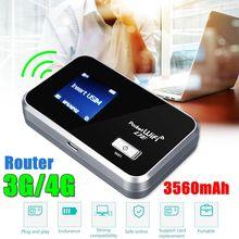 LEORY роутер Портативный wifi 3g-2100/1700 4g-1700MHz аккумулятор 3560mAh 4G LTE Cat4 Мобильная точка доступа