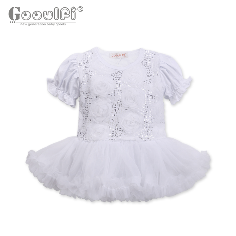 Baby Girl Dresses Party And Wedding 0-3 Months 1St Birthday Dress For Baby Girl GOOULFI Girls' Baby Clothing Tutu Dress