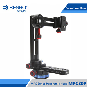 Image 2 - Benro MPC30P głowica panoramiczna przez trzy Dimentional fotografowanie panoramiczne aluminium Benro serii MPC głowica panoramiczna DHL darmowa wysyłka