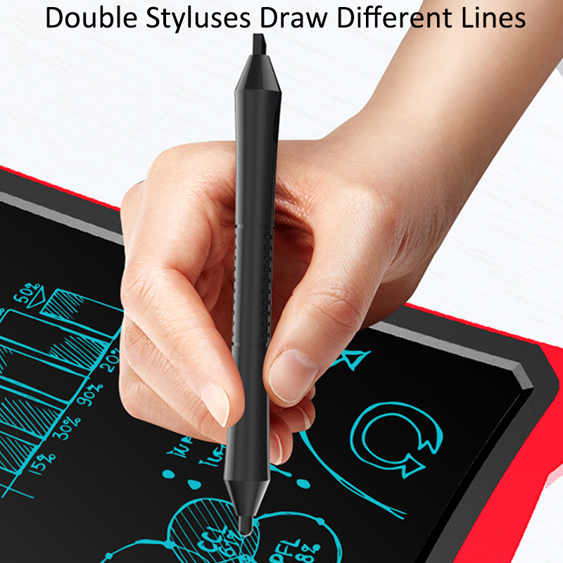 Image 4 - Digital Drawing Tablet LCD Kids Graphics Writing Paint Board Electronics Children Gift Study Pad Home Message Board With Battery-in Digital Tablets from Computer & Office
