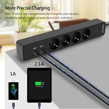 Smart Socket with USB Power Strip Extension Socket EU Socket(China)