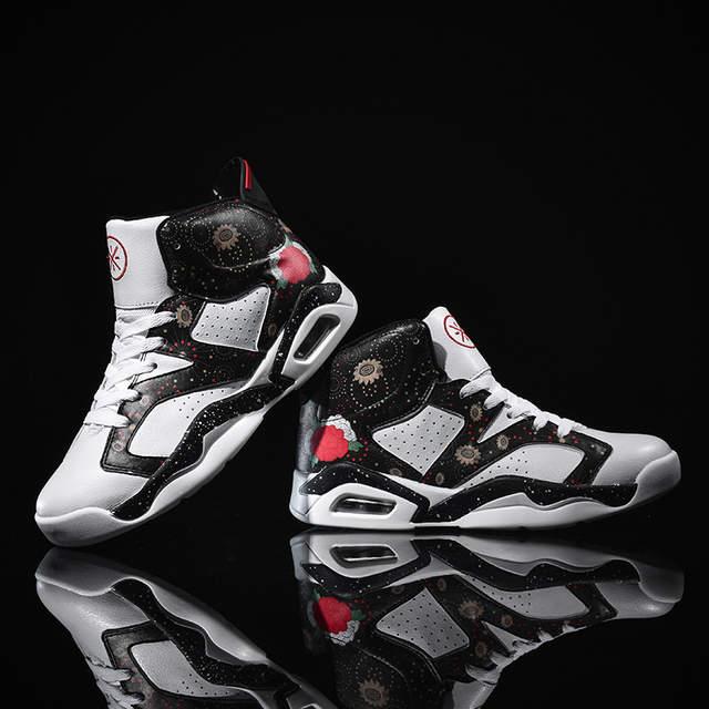 US $28.87 50% OFF|Men's basketball shoes 2019 New men air sports shoes jordan retro shoes zapatillas hombre deportiva Breathable sneakers
