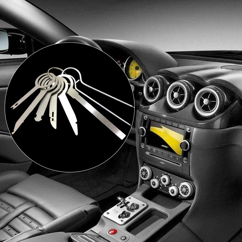 8 Piece Set Car DVD Disassembly Tool Audio Disassembly Tool Audio Key