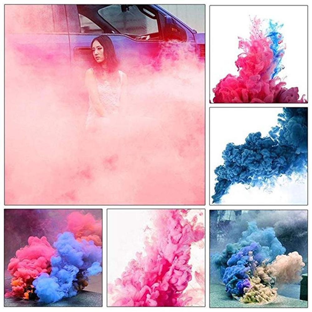 Bello Colore Fumo Magia Puntelli Trucchi In Pirotecnica Sfondo Scena Fotografia In Studio Prop Torta Fumo Nebbia Trucco Magico Mago Giocattolo Divertente