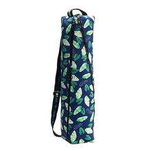 Durable Fitness Yoga Mat Bag for Men and Women, Full Zip Carrier with Pocket | Adjustable Strap