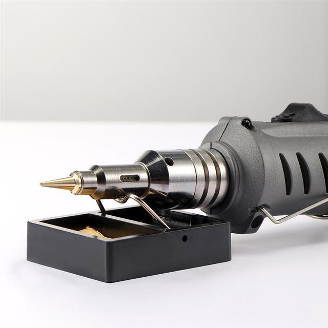 10 in 1 otomatik ateşleme bütan havya kiti kaynak meşale araçları kiti elektrikli havya seti gaz darbe meşale kalem