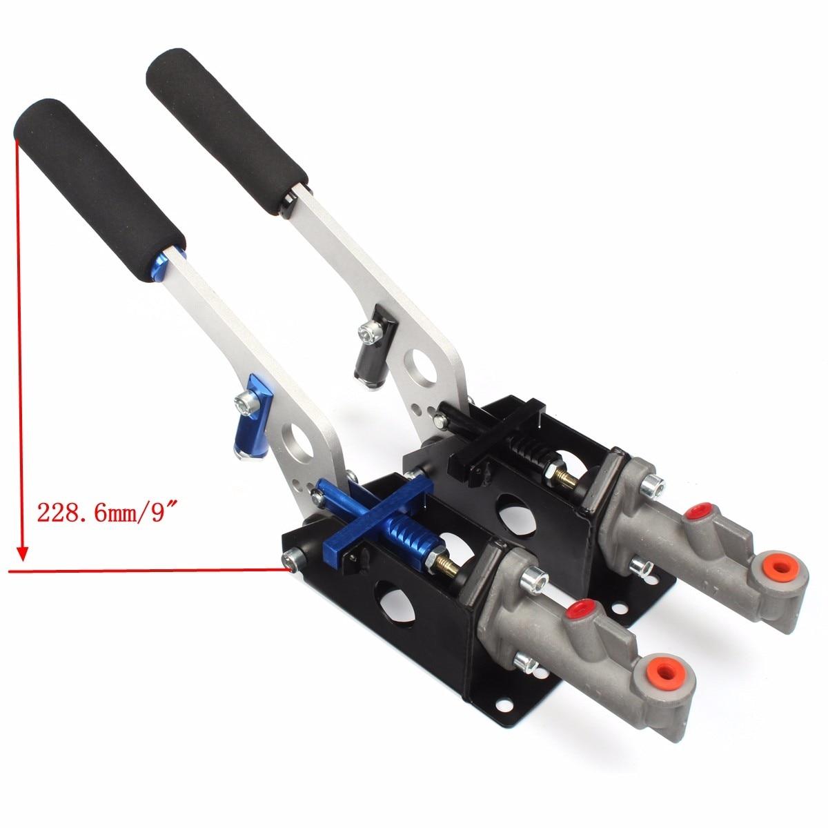 Accessoires auto universel hydraulique Horizontal course dérive frein à main main E frein Parking frein levier - 4