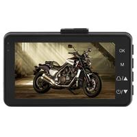 M0518 Motorcycle DVR Dash Cam 3 inch LCD Front+ Rear View Camera Recorder 125 Degree Wide angle Moto Camera