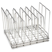 Stainless Steel Sous Vide Rack with 5 Divider Racks