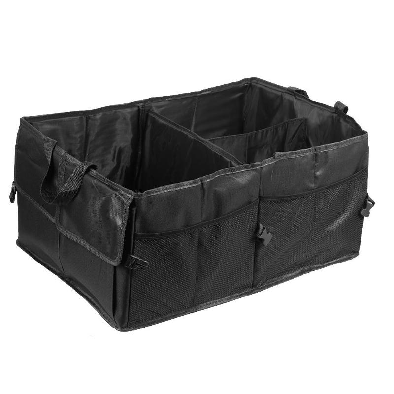 Car Trunk Organizer Multi-Pocket Collapsible Toys Food Storage Bag Cargo Container Auto Stowing Tiding High Quality Trunk Box