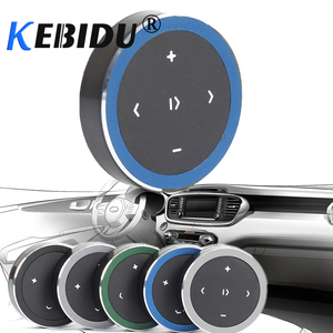 Kebidu Protable Wireless Bluetooth Media Button Car Motorcycle Remote Photography Music Play Remote Control For All Smart Phone(China)