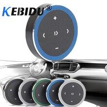 Kebidu portable sans fil Bluetooth média bouton voiture moto photographie à distance musique jouer télécommande pour tous les téléphones intelligents