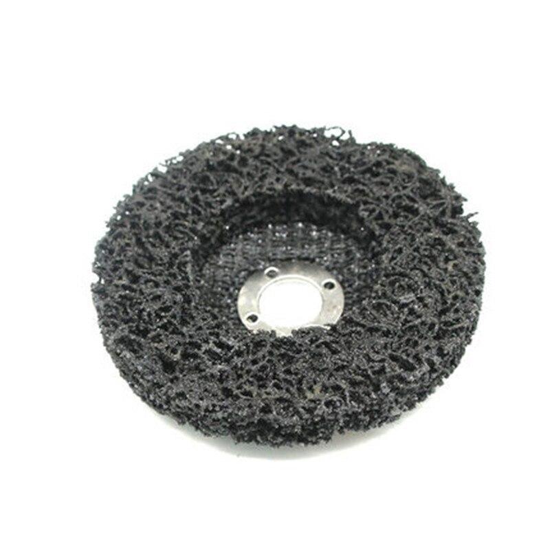 Image 5 - 100x16 мм Поли полосы диск колеса краски удаления ржавчины очистить удалить для угловая шлифовальная машина-in Губки, тряпки и щетки from Автомобили и мотоциклы