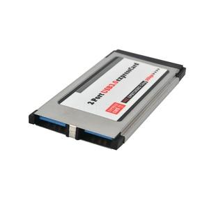 Image 4 - Kebidumei PCI Express ל usb 3.0 הכפול 2 יציאות PCI E כרטיס מתאם עבור NEC שבבים 34 MM חריץ ExpressCard ממיר 5 Gbps עבור מחשב