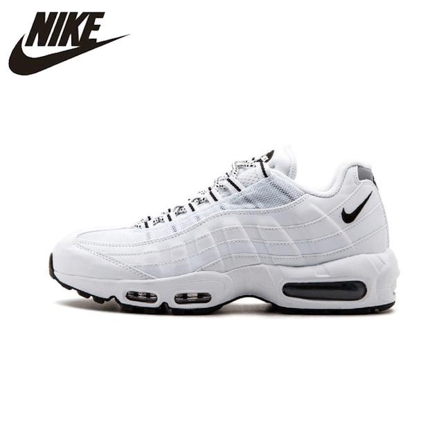 Nike Air Max 95 Original New Arrival Homens Respirável Sapatos Tênis de corrida Esportes Ao Ar Livre Almofada Tênis #609048-109