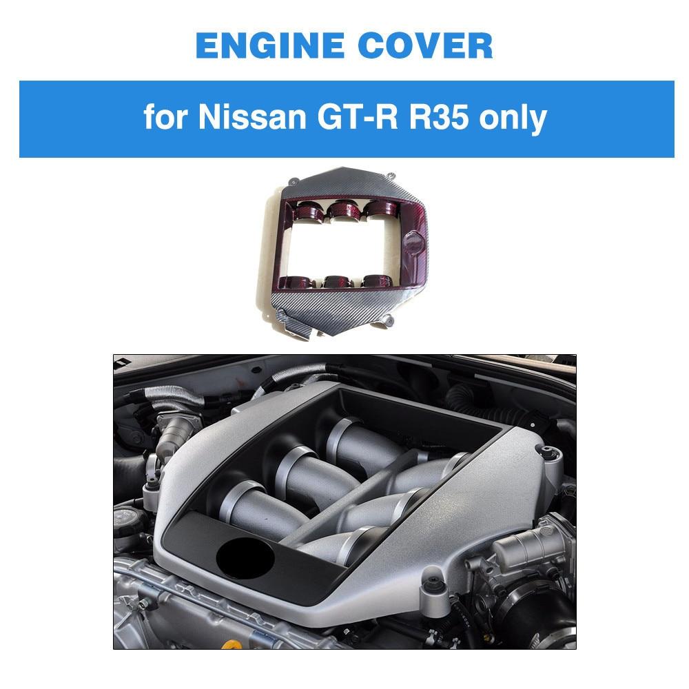 Capot moteur dans les Bonnets de moteur de voiture pour Nissan GTR 2009-2014 couverture de moteur en Fiber de carbone