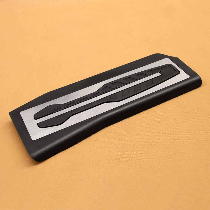 3 шт. автомобильный Стайлинг нержавеющая сталь топливная газовая Тормозная педаль акселератора обложка комплект для BMW 5-Series G30 G31 2017