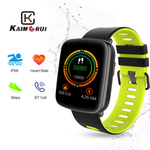 Купить с кэшбэком Smart Watch GV68 Waterproof IP68 Heart Rate Monitor Bluetooth Smartwatch Swimming with Replaceable Straps for Xiaomi IOS Android