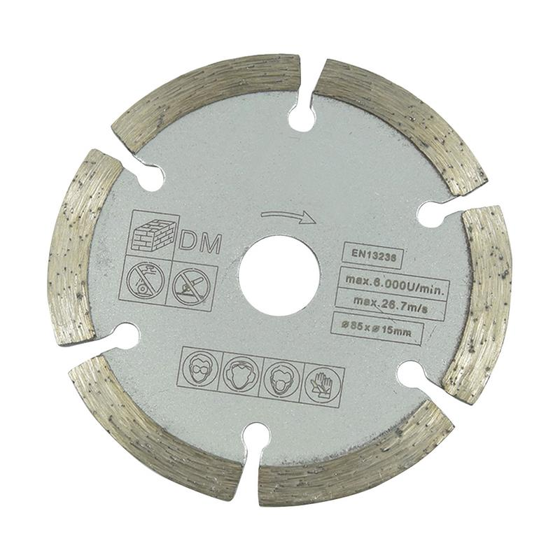 Multitool Blades Diamond Circular Saw Diameter 85*15mm Grey Saw Blade  Cutting Tool For Wood Carving Disc And Metal Cutting
