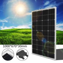 Elfeland? M-90 90W 18V High Effefficiency Flexible Monocrystalline Silicon Solar Panel(China)