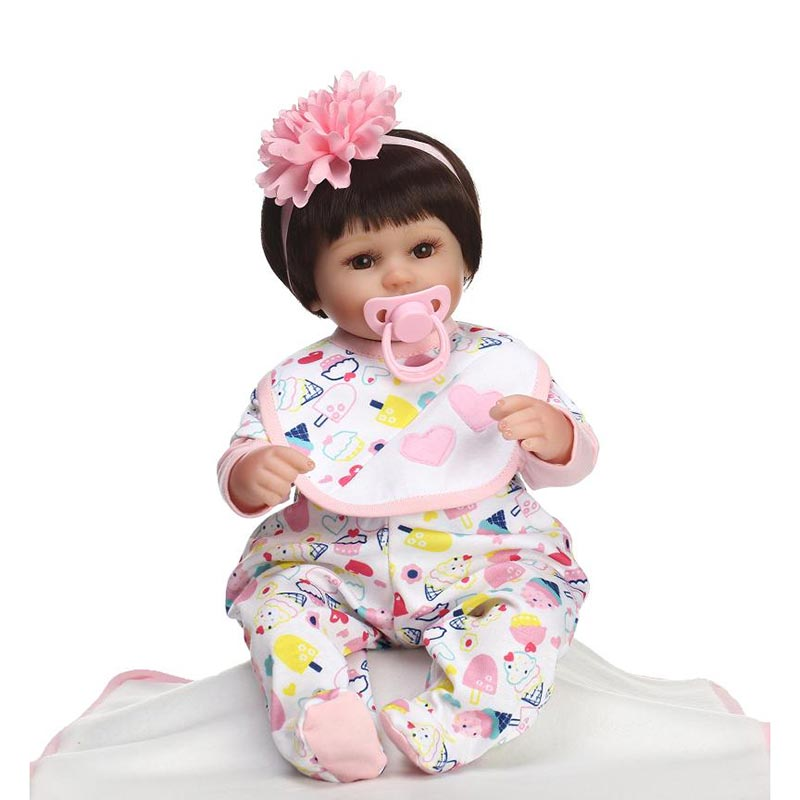 Silicone Reborn Baby Dolls Baby Alive Realistic Infant Lifelike Real Girl Doll Reborn Birthday ChristmasSilicone Reborn Baby Dolls Baby Alive Realistic Infant Lifelike Real Girl Doll Reborn Birthday Christmas