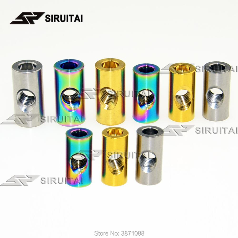 Repair Of Titanium Alloy Cylindrical Nut M6 Bicycle Seat Fixed Nut