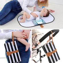 Portable Foldable Baby Diaper Changing Mat Waterproof Travel