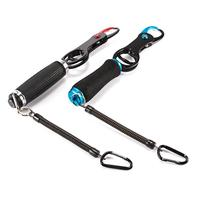 EVA Handle Portable Fish Control Clamp Device Lures Stainless Steel Fishing Grip Holder Pliers Clip Tackle Pesca Accessories