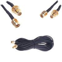 6 м телевизионные антенны РП-SMA кабель-удлинитель беспроводной маршрутизатор беспроводной Wi-Fi интернет