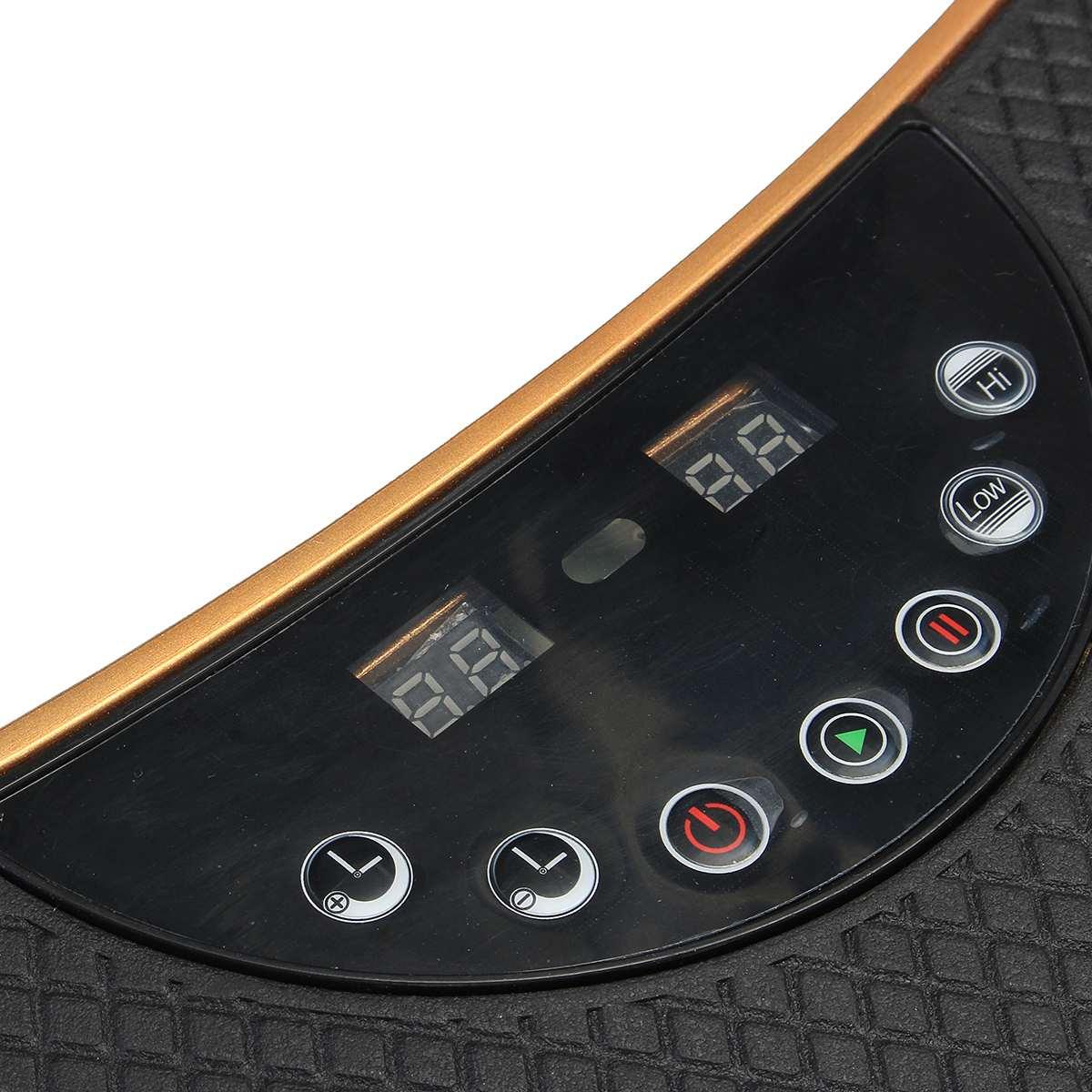 220 V 500 W Vibration Machine exercice plate-forme masseur corps Fitness à distance exercice équipement de fitness - 5
