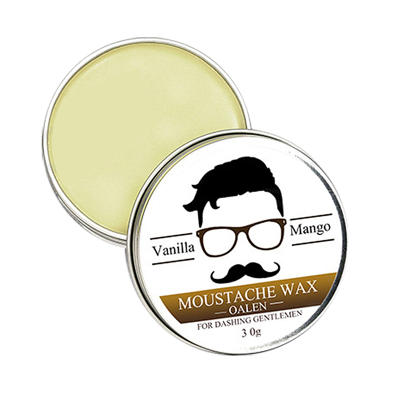 Lanthome Male Beard Wax Attractive Mustache Moustache Nourishing Beard Care Improve Messy Sparseness Reducing Curls Hair Growt