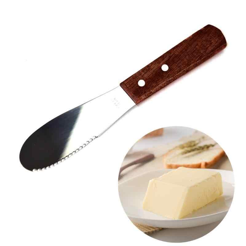 Novo Acessório de Cozinha Propagador Almoço Ferramenta Queijo Espátula Faca de Manteiga de Aço Inoxidável