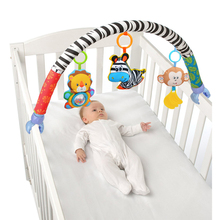 FBIL-Baby Stroller/Bed/Crib Hanging Toys For Tots Cots Rattles Seat Cute Plush Stroller 88cm Rattles