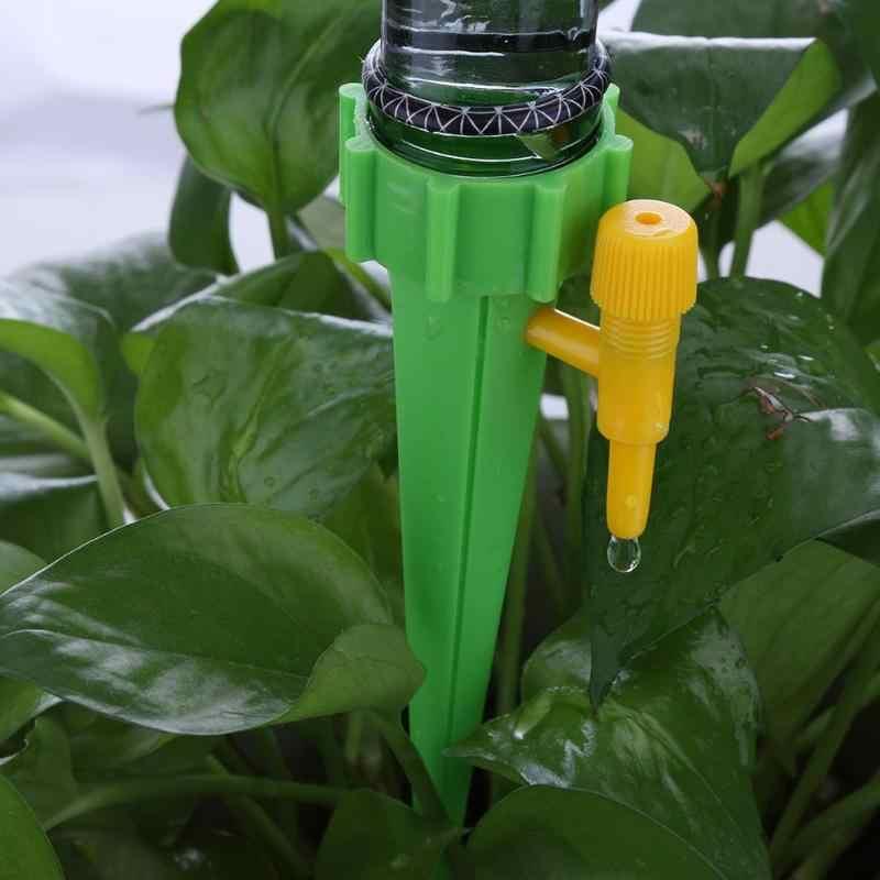 12 Chiếc Tự Động Tưới Nhỏ Giọt Hệ Thống Tưới Cây Tưới Cây Spike Dành Cho Thực Vật Hoa Trong Nhà Hộ Gia Đình Waterers Bình Tưới Nhỏ Giọt