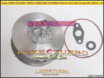 Turbo cartridge core GT1544V 782403 740611 740611-0001 28201-2A400 28201-2A100 For KIA Cerato 1.6L CRDi Rio 1.5L CRDi 81kw 85kw