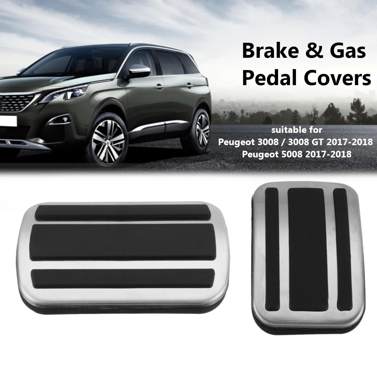 Aluminum No drill Sport Fuel Brake AT Pedal Cover For Honda CRV 2017 2018 2019