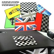 For MINI Cooper R56 S One Accessories Anti-Slip Mat Auto Countryman R60 Car Rubber Pad R55 F54 F56 F60