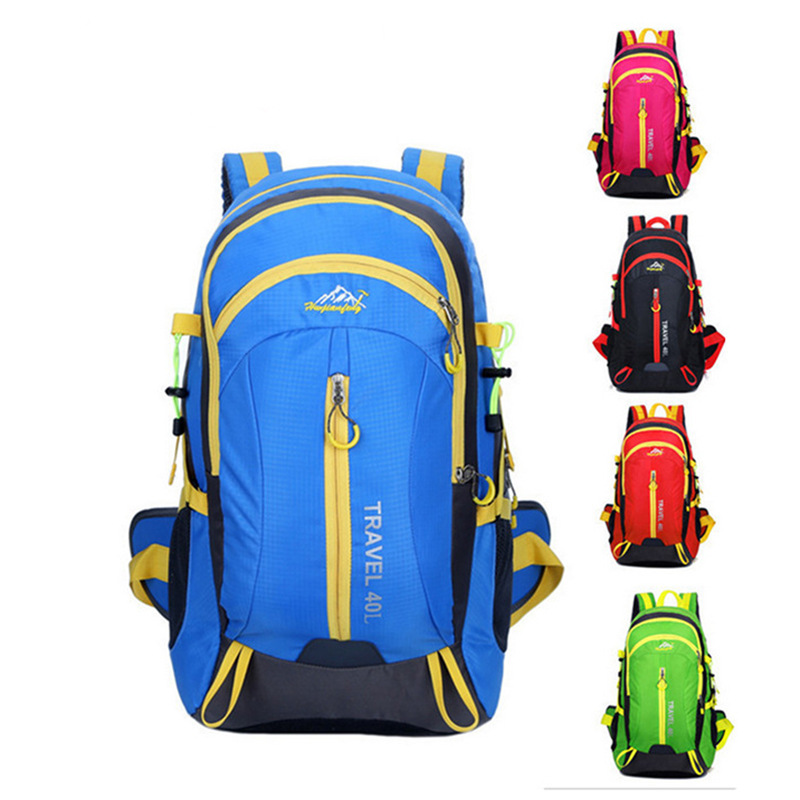 New Outdoor Mountaineering Bag Waterproof Leisure Travel Backpack for Men and WomenNew Outdoor Mountaineering Bag Waterproof Leisure Travel Backpack for Men and Women