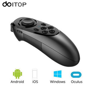 Image 2 - Bluetooth Wireless Gamepad VR Controller IOS Android Phones Joystick Remote Control for Mobilephone VR Box Smart TV B4