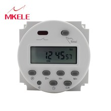 MKELE CN101A Digital LCD Power Week Mini Programmable Time Switch Relay Switch Control Timer Switch