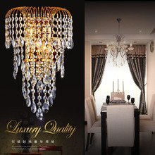 Luxo k9 lâmpada de parede cristal led ouro/prata sala estar lâmpada de parede moderna lâmpada de cabeceira restaurante lâmpada de parede moda luzes de parede
