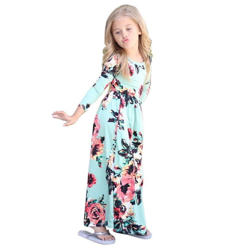 eb5bd8a538fcf Worldwide delivery girls maxi dress long sleeve in NaBaRa Online