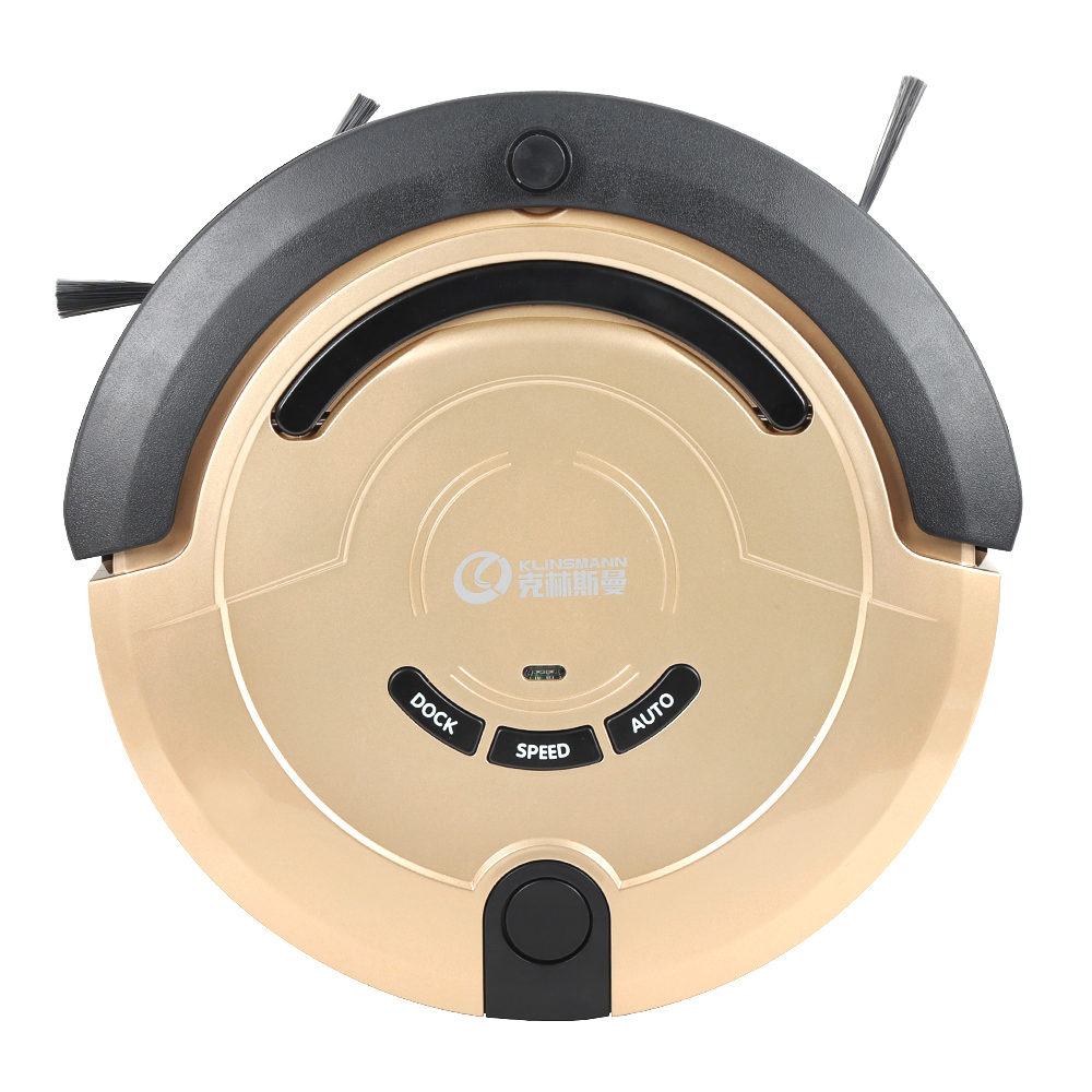 KLiNSMANN KRV209 Automatic Robot Vacuum Cleaner Portable Household Machine Remote control Wet Dry Mop Suction Cleaner