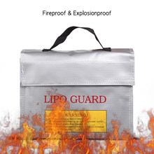 Handheld Fireproof Explosionproof Lipo Battery Safe Bag Portable Heat Resistant Pouch Sack for Battery Charge & Storage(China)