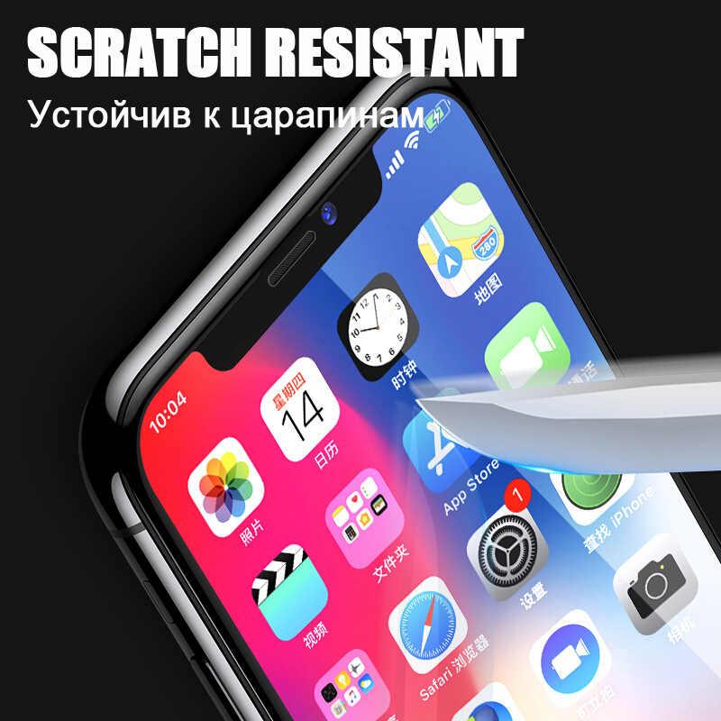 Do oryginalnego iphone 7 szkło na apple iphone 6 5 7 8 plus xs xr xs max ix szkło hartowane ekran, telefon aphon folia ochronna
