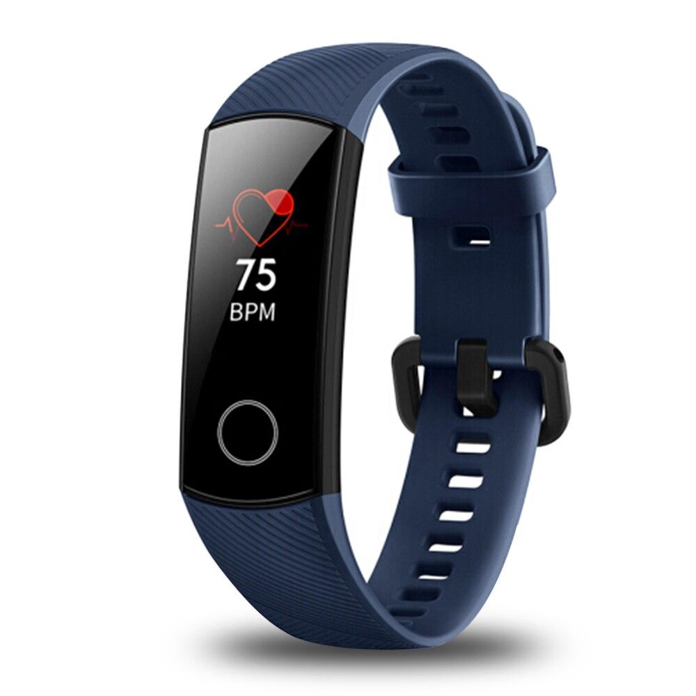 2018 huawei Honneur Bande 4 montre connectée IP68 Étanche bracelet bluetooth Fréquence Cardiaque Sommeil podomètre moniteur d'activité huawei montre connectée - 5