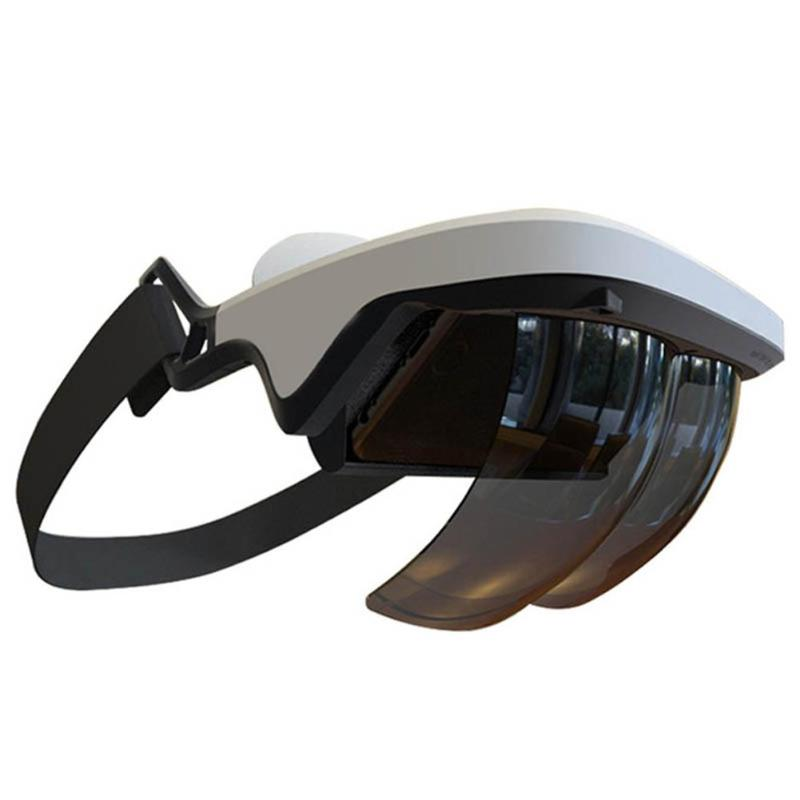 все цены на 3D AR Glasses Augmented Reality 90 Degree Visual Bluetooth Holographic Effects Smart Gaming Helmet Device for iOS Android Phone