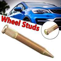 10/50 Pcs M12X1.5 Universal Car Wheel Studs Bolts Extended Dracing Spiked Wheel Studs Kit For Lug Nut Conversion Tall Lug Bolts