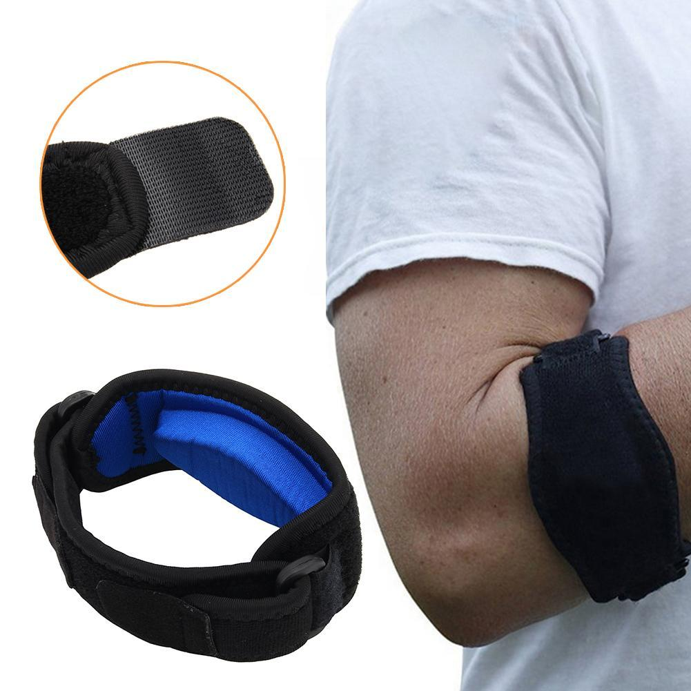 Newest Brace Tennis & Golfer's Pain Relief With Compression Pad Wrist Sweatband Drop Shipping